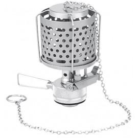 Лампа з п'єзопідпалом і металевим плафоном