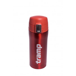 Термос Tramp 0,35 л червоний металік