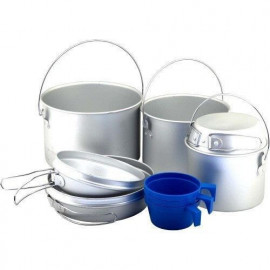 Комплект посуду. алюміній